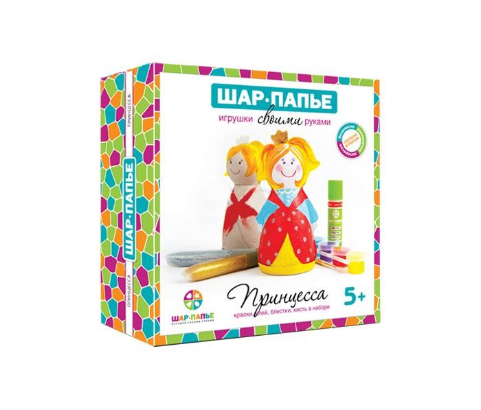 Наборы для творчества Шар-папье Набор Принцесса B01452 наборы для творчества 4м фигурки из формочки принцесса 00 03528