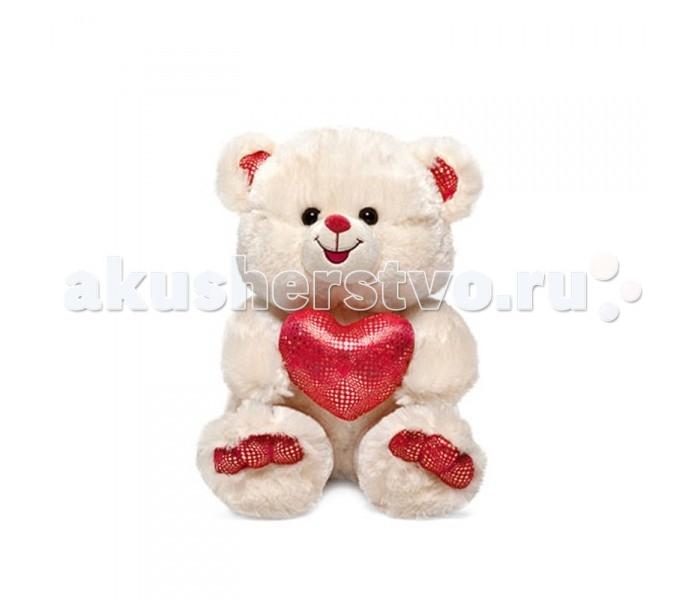Мягкие игрушки Lava Медведь с золотистым сердцем музыкальный 25 см lava бобер музыкальный 19 см