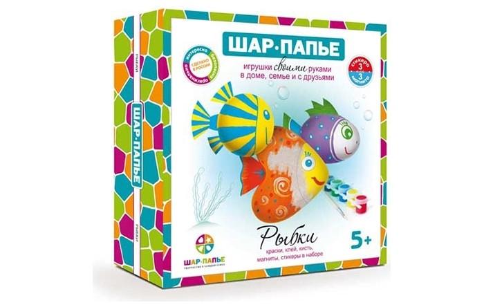 Наборы для творчества Шар-папье Набор Магниты Рыбки набор bumbaram волшебный шар рыбки mm 4