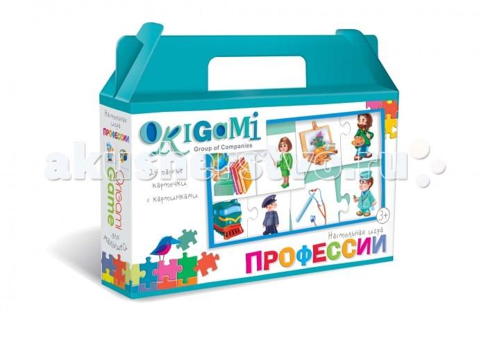 Настольные игры Origami Настольная игра Профессии настольная игра профессии торговля au12