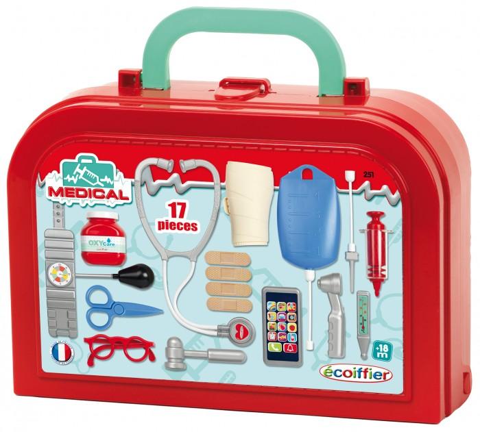 Картинка для Ролевые игры Ecoiffier Набор доктора Делюкс в чемоданчике