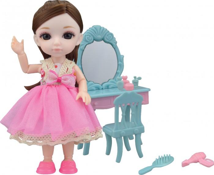 Funky Toys Игровой набор туалетный столик и Кукла Малышка Лили 16 см