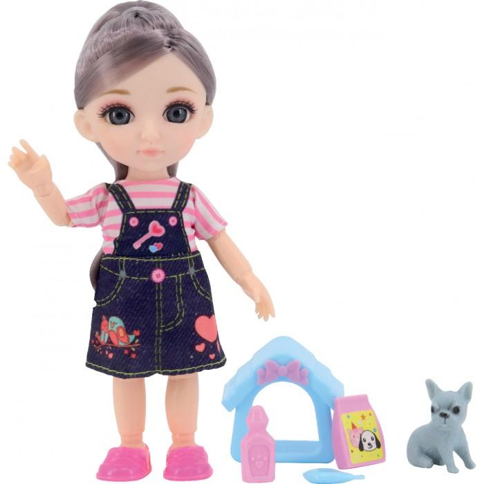 Funky Toys Игровой набор с собачкой и домиком и Кукла Малышка Лили 16 см