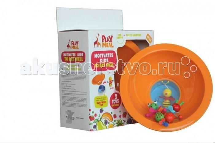 Посуда Play Meal Набор детской посуды disney набор детской посуды королевские питомцы 3 предмета