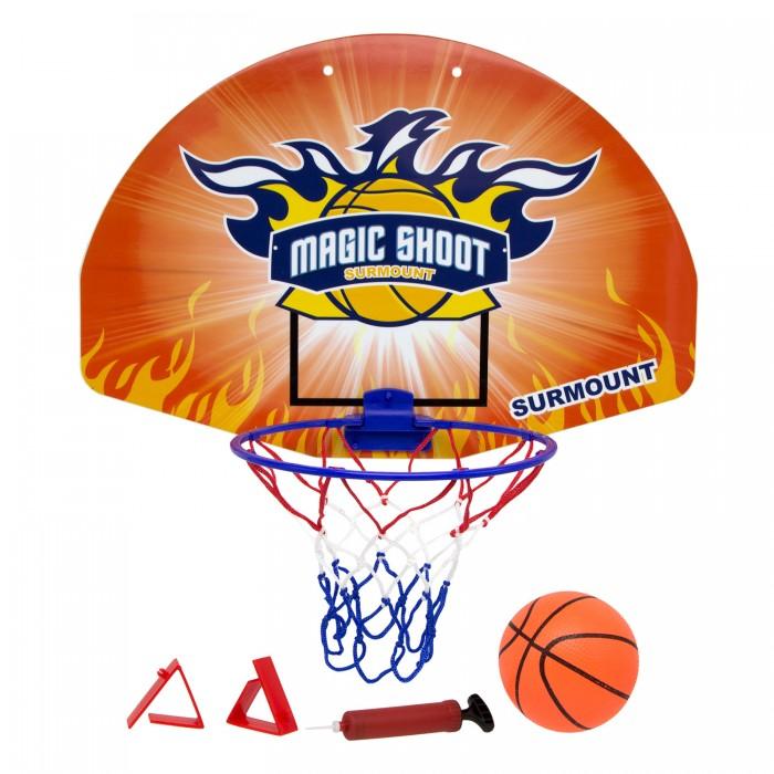 Спортивный инвентарь ХэппиЛенд Набор для игры в баскетбол (корзина со щитом, мяч, насос) 200449829