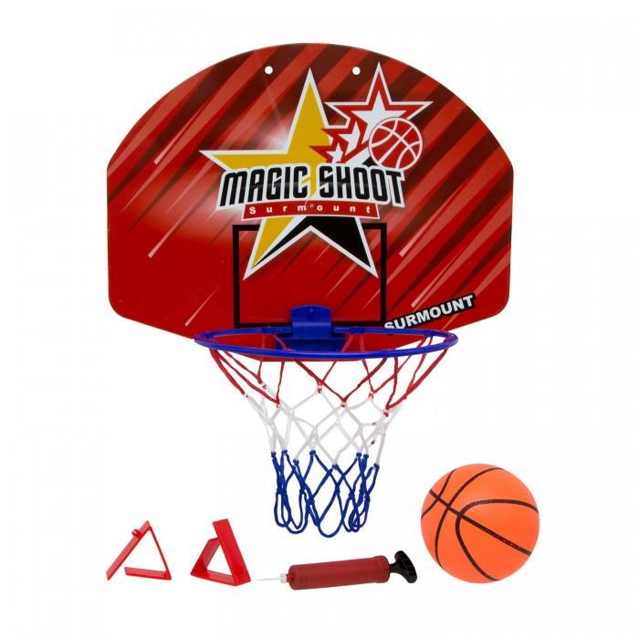 Спортивный инвентарь ХэппиЛенд Набор для игры в баскетбол (корзина со щитом, мяч, насос) 200449828