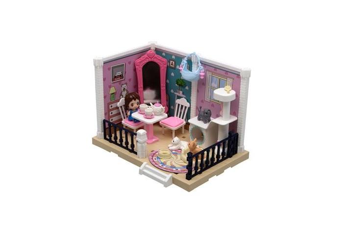 ХэппиЛенд Игровой набор Уютная квартирка с куклой