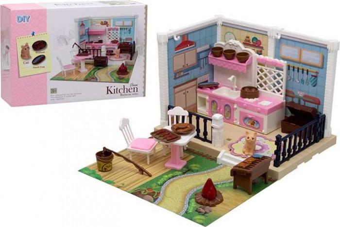 ХэппиЛенд Игровой набор Уютная квартирка с домашним питомцем