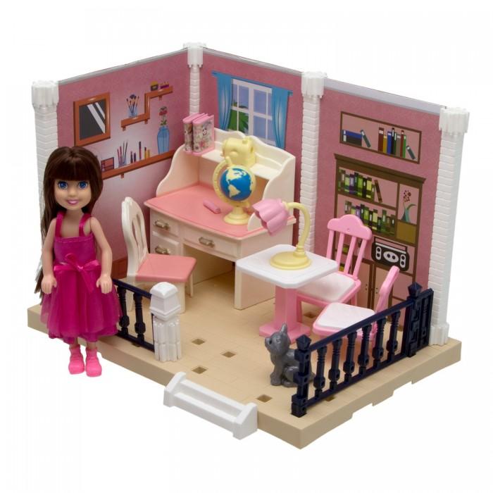 ХэппиЛенд Игровой набор Уютная квартирка с куклой 200828824