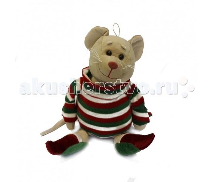 Мягкая игрушка Fancy Мышка-Домосед 28 см