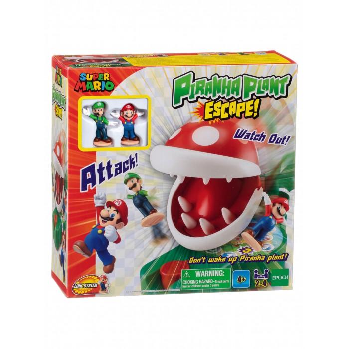 Epoch Games Настольная игра Супер Марио Побег от Растения-пираньи