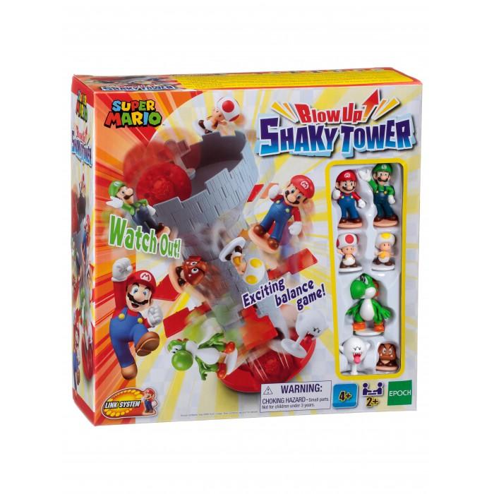 Epoch Games Настольная игра Супер Марио Шаткая башня