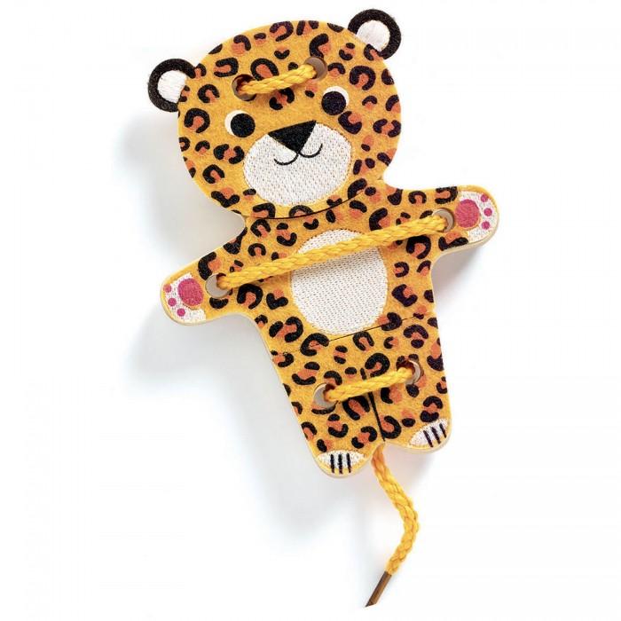 Купить Развивающие игрушки, Развивающая игрушка Djeco Шнуровка-животные