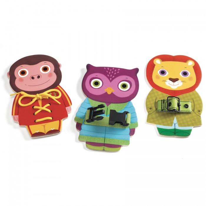 Купить Развивающие игрушки, Развивающая игрушка Djeco Ремешки 01666