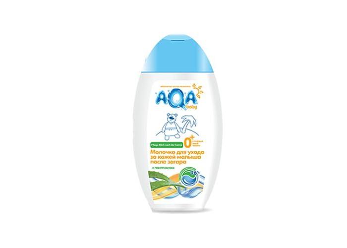 Солнцезащитные средства AQA baby Молочко для ухода за кожей малыша после загара 250 мл солнцезащитные средства biosolis молочко для тела после загара 150 мл