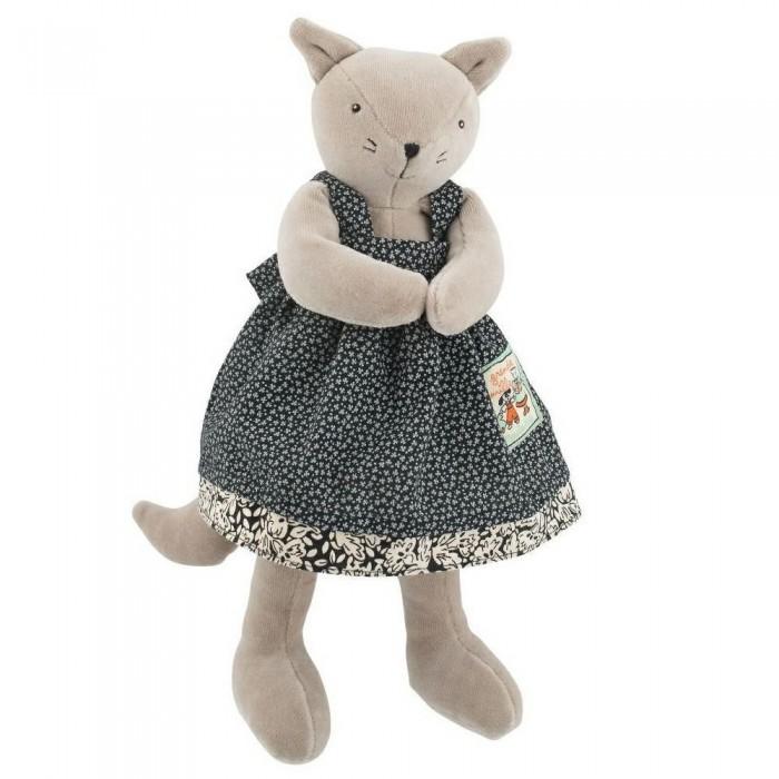 Мягкая игрушка Moulin Roty Агата кошка 30 см