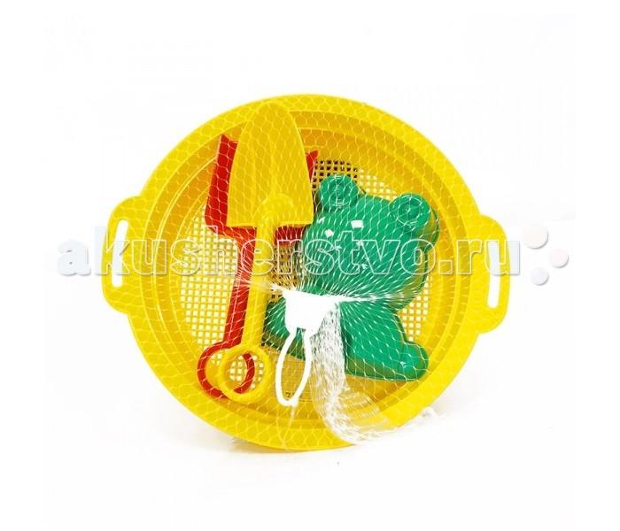 Игрушки в песочницу Jiahe Plastic Песочный Набор (5 Предметов) jiahe plastic песочный набор