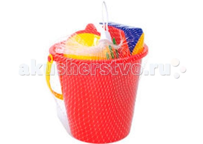 Игрушки для зимы Jiahe Plastic Песочный Набор 3 обнаженный песочный