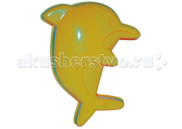 Игрушки для зимы Jiahe Plastic Игрушка в песочницу Формочка Дельфин jiahe plastic песочный набор