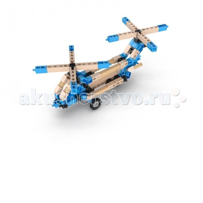 Конструкторы Engino Eco Builds Вертолеты 3 в 1 конструкторы engino алекс приключения во времени открывая автомобили
