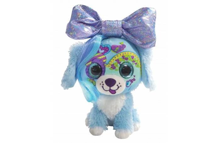 Мягкая игрушка Shokid Little Bow Pets щенок Puppy с бантиком сюрпризом 18 см