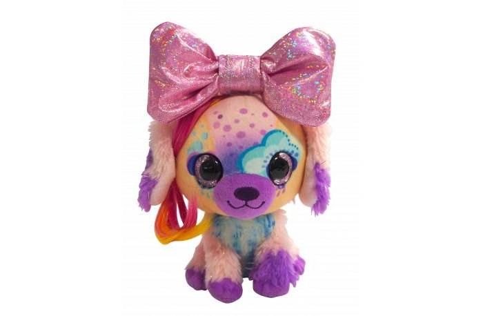 Мягкая игрушка Shokid Little Bow Pets щенок Stormy с бантиком сюрпризом 18 см