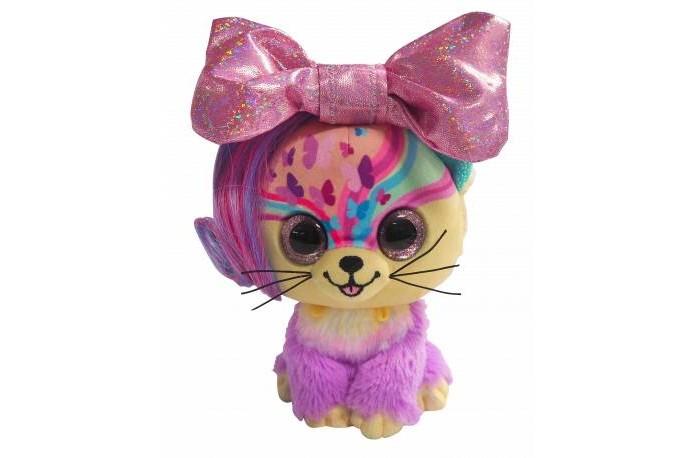 Мягкая игрушка Shokid Little Bow Pets котенок Butterfly с бантиком сюрпризом 18 см