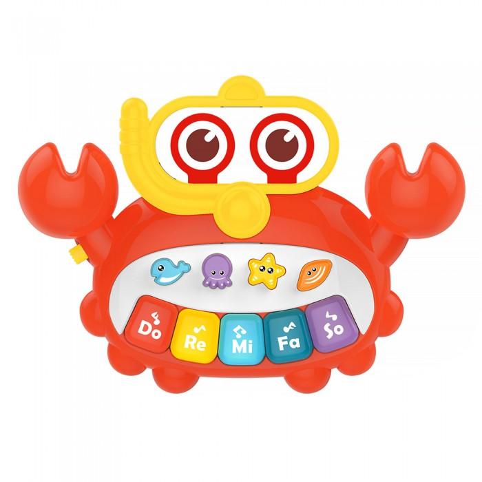 Развивающая игрушка Huanger Пианино Краб
