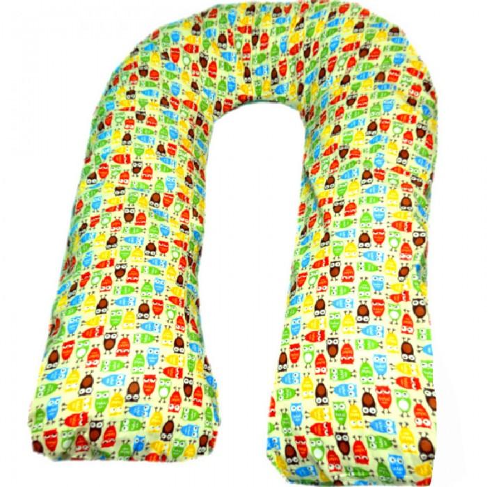 Купить Подушки для беременных, БиоСон Подушка для беременных U Совы (поплин) 340х35
