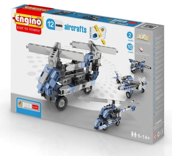 Купить Конструкторы, Конструктор Engino Eco Builds Самолеты 12 в 1