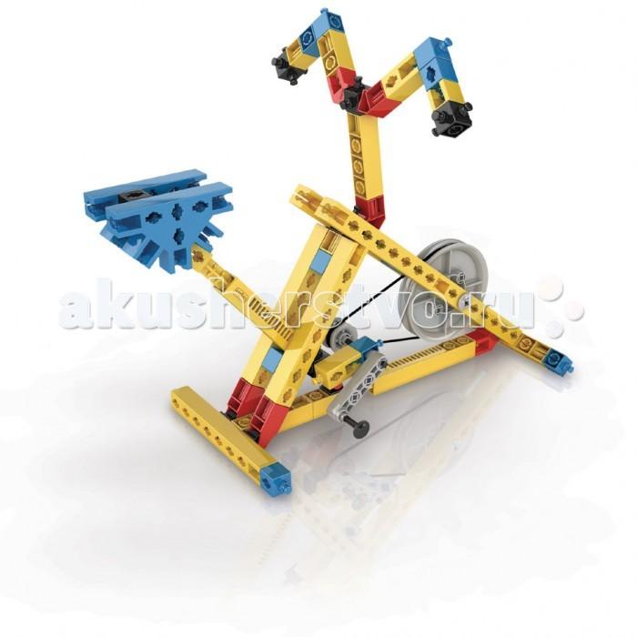 Конструктор Engino Mechanical Science БлокиMechanical Science БлокиEngino Mechanical Science Блоки.  Узнай, как с помощью блоков можно передавать силу с минимальными потерями от трения и как увеличить силу или скорость до поразительных значений. Собери 7 рабочих моделей, таких как велотренажер, строительный кран, мостовой кран, разводной мост, подъемник, ветряная мельница и блендер.   В набор входит диск с рабочей тетрадью на русском языке, для печати с описаниями новейших экспериментов и подробными объяснениями различных принципов механики, которые в них применяются, также прилагается брошюра с подробными инструкциями по сборке моделей.<br>