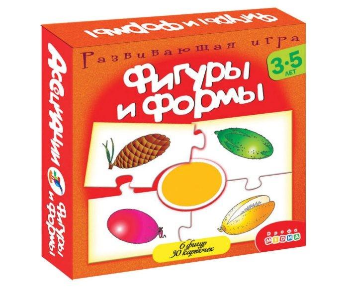 Игры для малышей Дрофа Ассоциации. Фигуры и формы.