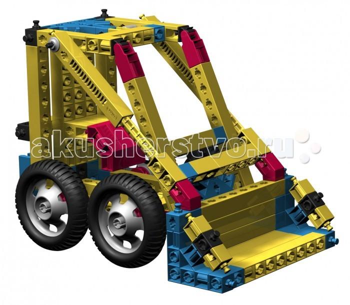 Конструктор Engino Mechanical Science Простые механизмы 8 наборов в 1Mechanical Science Простые механизмы 8 наборов в 1Engino Mechanical Science Простые механизмы 8 наборов в 1.  Этот набор представляет собой комплекс из 8 базовых наборов серии Mechanical Science. В нем рассматриваются все простые механизмы:рычаги, клинья, колеса и оси, винты, наклонные плоскости и блоки, а также шестеренки и системы рычагов. Собери 60 рабочих моделей,таких как автомобили, строительные краны и всевозможные простые механизмы.   В набор входит диск с рабочей тетрадью на русском языке, для печати с коллекцией лучших экспериментов из серии и подробными объяснениями различных принципов механики, которые в них применяются, также прилагается брошюра с подробными инструкциями по сборке 59 моделей.<br>