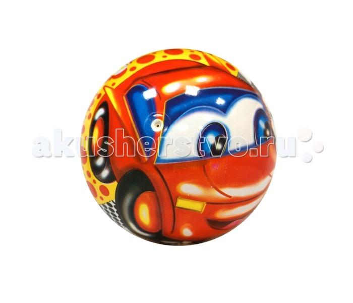 Мячики и прыгуны Maxitoys Мяч Машинка 23 см maxitoys подушка с ручками