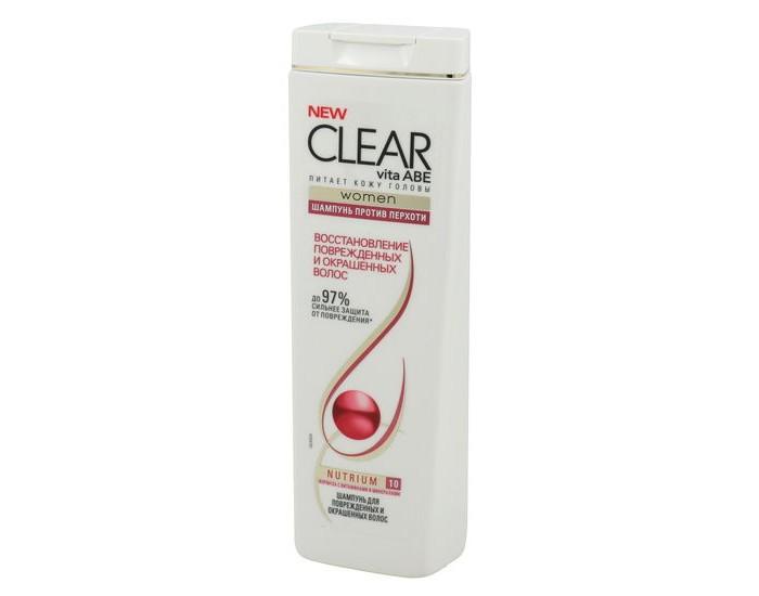 clear vita abe Косметика для мамы Clear Шампунь женский Восстановление поврежденных и окрашенных волос 200 мл