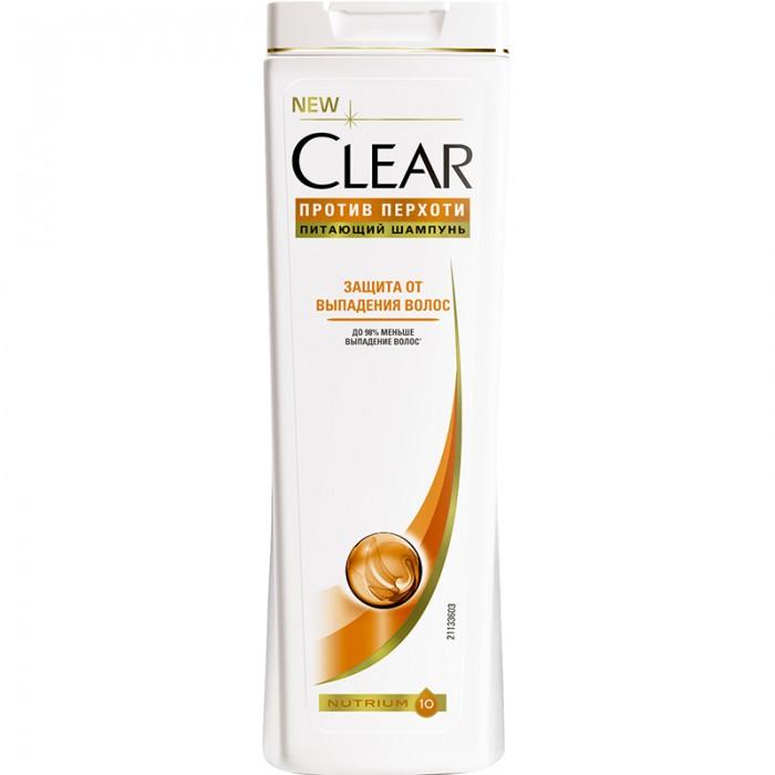 Фото Косметика для мамы Clear Шампунь женский Защита от выпадения волос 200 мл