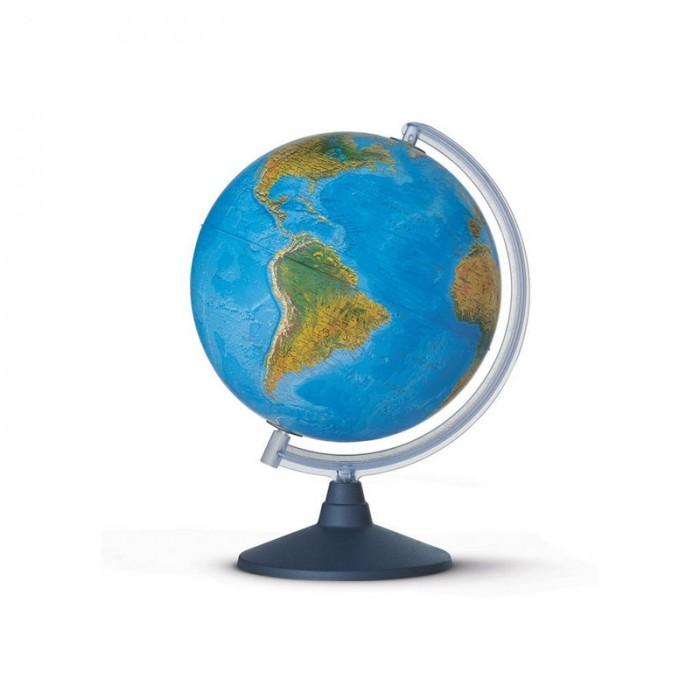 Развитие и школа , Глобусы Nova Rico Глобус физико-политический Elite 20 см с подсветкой арт: 122547 -  Глобусы