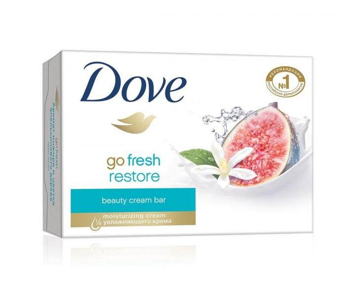 Косметика для мамы Dove Крем-мыло Инжир и Лепестки апельсина 135 г мыло dove кокосовое молоко с лепестками жасмина 135 г