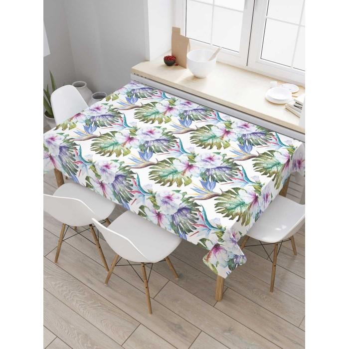 Товары для праздника JoyArty Скатерть на кухонный стол Тропикана 145x120 см недорого