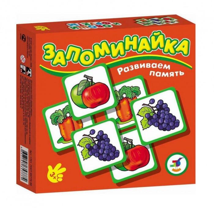 Игры для малышей Дрофа Настольная игра Овощи и фрукты