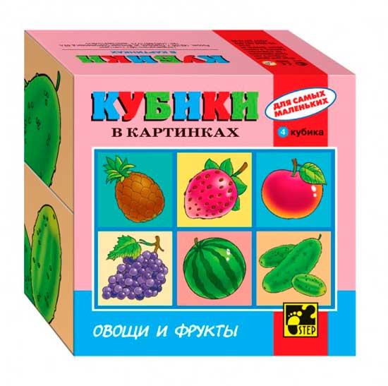Игры для малышей Дрофа Кубики для самых маленьких Серия №3