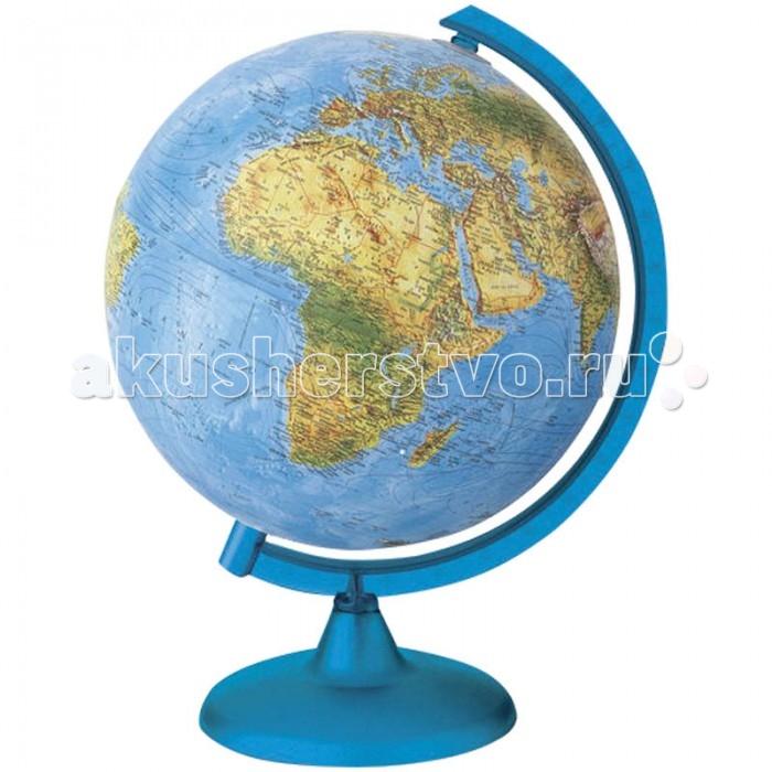 Развитие и школа , Глобусы Nova Rico Глобус физико-политический Orion/Frost 20 см с подсветкой арт: 122752 -  Глобусы