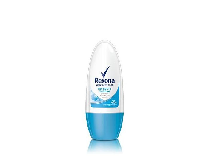 Косметика для мамы Rexona Легкость хлопка дезодорант шариковый roll 50 мл