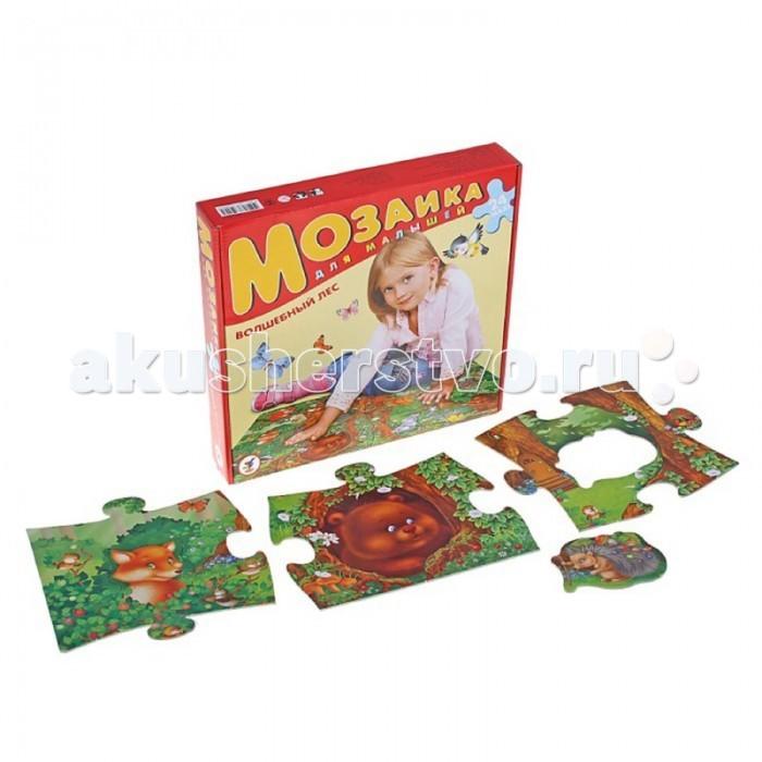 Пазлы Дрофа Пазлы Волшебный лес серия Мозаика для малышей александр григорьев волшебныйлес сказка