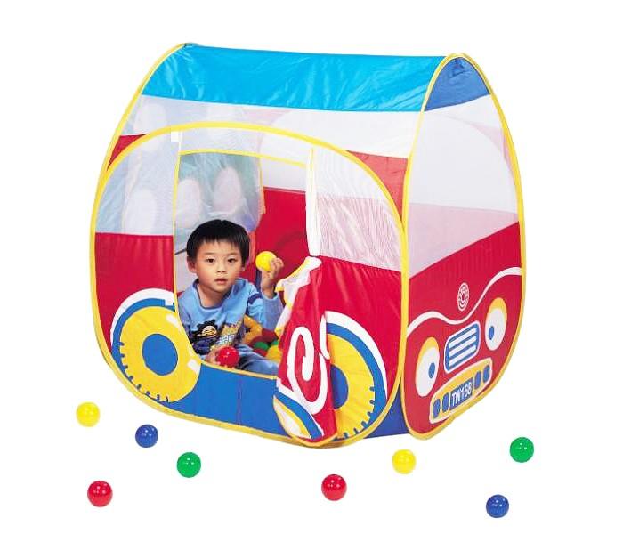 Палатки-домики Calida Домик-палатка Автомобиль + 100 шаров 654 палатки greenell палатка дом 2