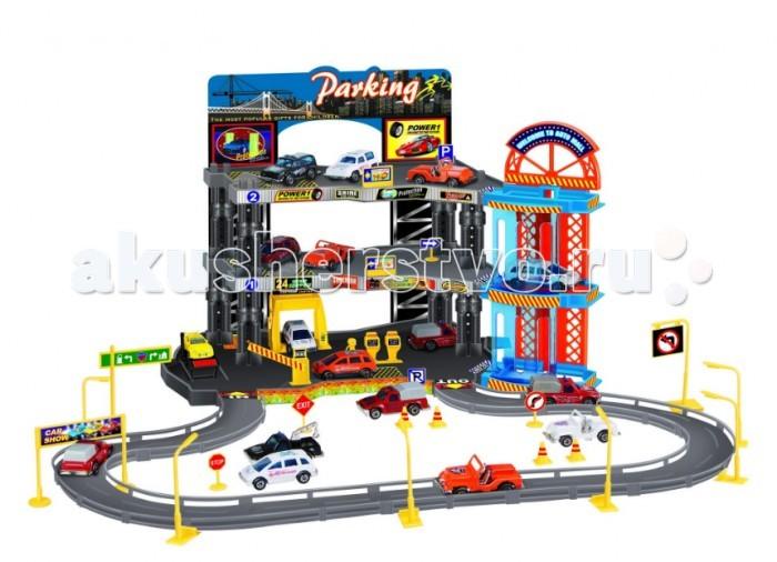 Dave Toy Игровой набор Полицейский участок с 2 машинкамиИгровой набор Полицейский участок с 2 машинкамиОтличным подарком любому ребенку будет Игровой набор Полицейский участок с 2 машинками от компании Dave Toy! Это не просто полицейский участок, а целый город, в котором он расположен.  Сам набор имеет два уровня. Очень реалистично выглядят прорисованные улицы города, где есть дороги, машины, автобусы, а также различные постройки. В городе можно расставить дорожные знаки, деревья и цветочные клумбы. Полицейский участок синего цвета расположен на втором уровне, куда организован заезд автомобилей. В комплект входят две машинки желтого и зеленого цветов. Направление въездов и выездов с улиц отмечены стрелками.   Все детали игрового набора выполнены из качественного безопасного для детей материала.   В комплекте машинки с металлическом корпусом (дно машинки из пластика), лист наклеек и инструкция.  Длина машинки 6 сантиметров.  Рекомендуемый возраст: от 3 лет.<br>