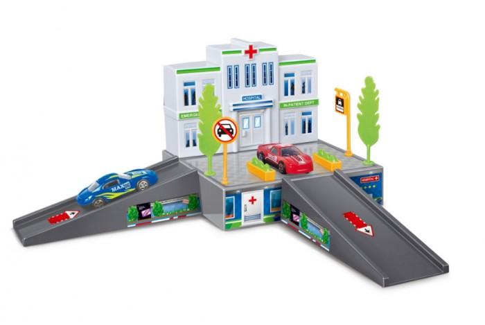 Машины Dave Toy Больница с 1 машинкой игровой набор dave toy аэропорт с 1 машинкой