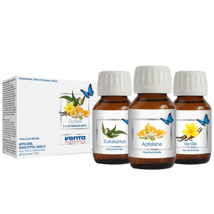 Увлажнители и очистители воздуха Venta Набор ароматических добавок Ваниль, Апельсин, Эвкалипт 50 мл 3 шт.