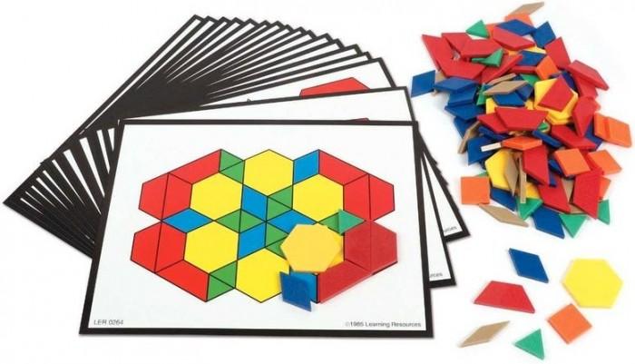 Игровые наборы Learning Resources Игровой набор Геометрические блоки (142 элемента)