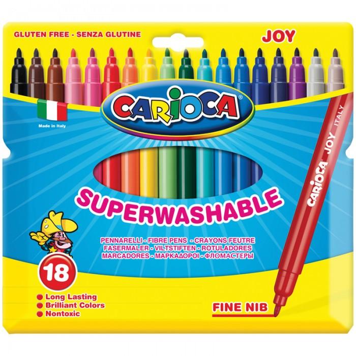 Фломастеры Carioca Joy 18 цветов фломастеры carioca joy 10 цветов в блистере